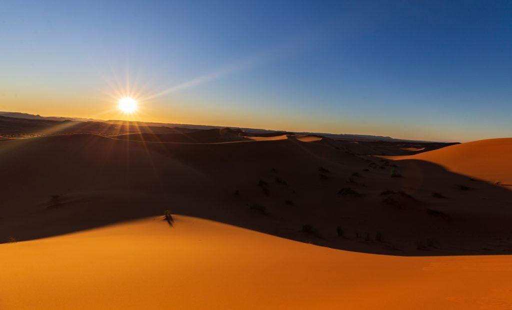 Nel deserto non ci sono ingorghi