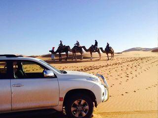 Marocco dormire nel deserto